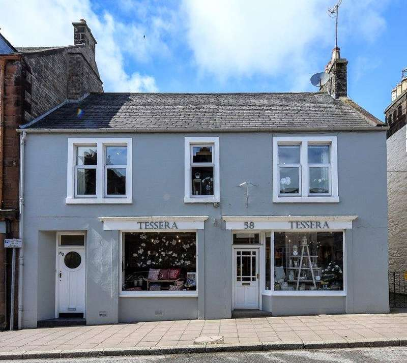 2 Bedrooms End Of Terrace House for sale in Tessera, 58 King Street, Castle Douglas, Dumfries and Galloway, DG7
