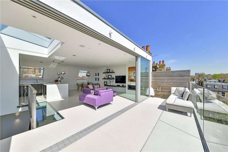 3 Bedrooms Maisonette Flat for sale in Addison Gardens, London, W14