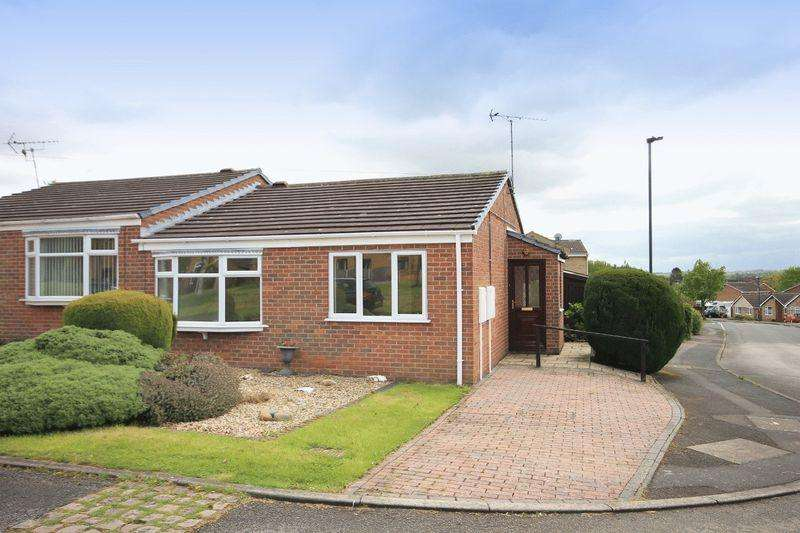 2 Bedrooms Semi Detached Bungalow for sale in HOLLYMOOR DRIVE, CHELLASTON