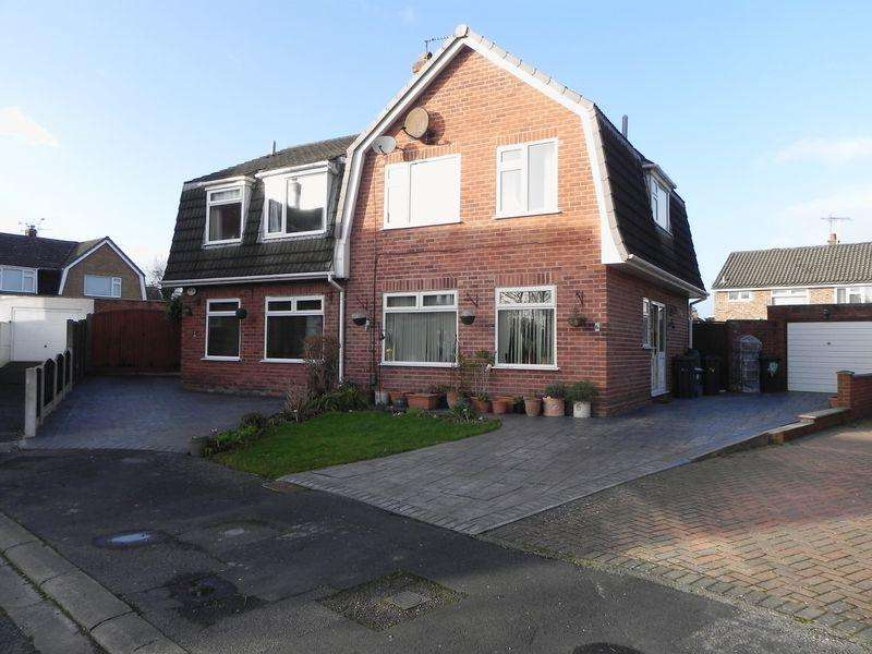 3 Bedrooms Semi Detached House for rent in Elland Drive, Little Sutton