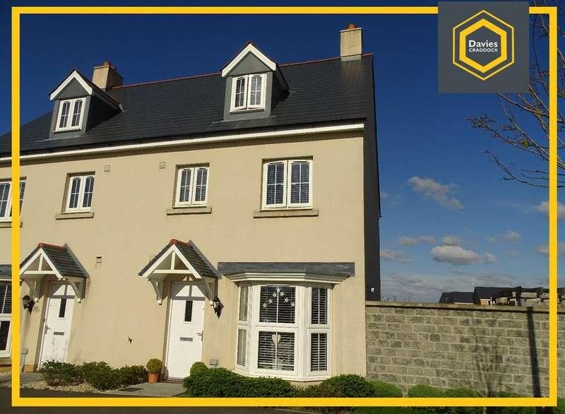 4 Bedrooms Semi Detached House for sale in Y Corsydd, Llanelli, SA15