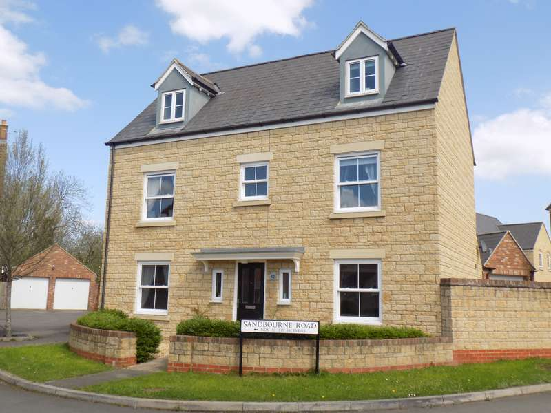 5 Bedrooms Property for sale in Sandbourne Road, Haydon End