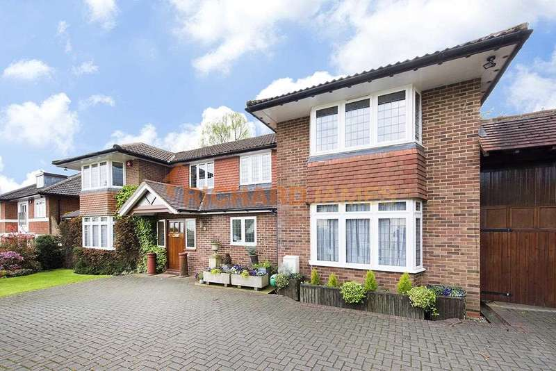 5 Bedrooms Detached House for sale in Abbey View, Mill Hill