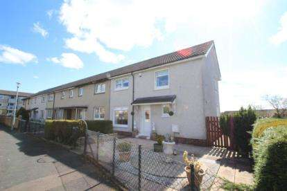 3 Bedrooms End Of Terrace House for sale in Glentore Quadrant, Airdrie, North Lanarkshire