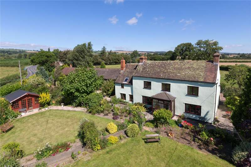 6 Bedrooms Detached House for sale in Seifton View, Culmington, Ludlow, Shropshire, SY8