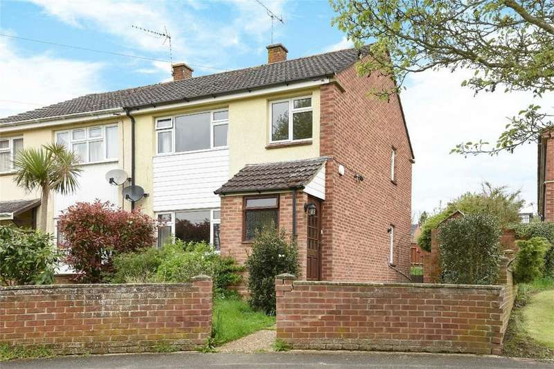 3 Bedrooms Semi Detached House for sale in Viney Avenue, Romsey, Hampshire