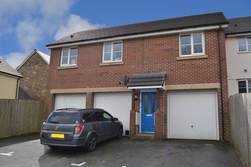 2 Bedrooms Maisonette Flat for sale in Kit Hill View, Launceston