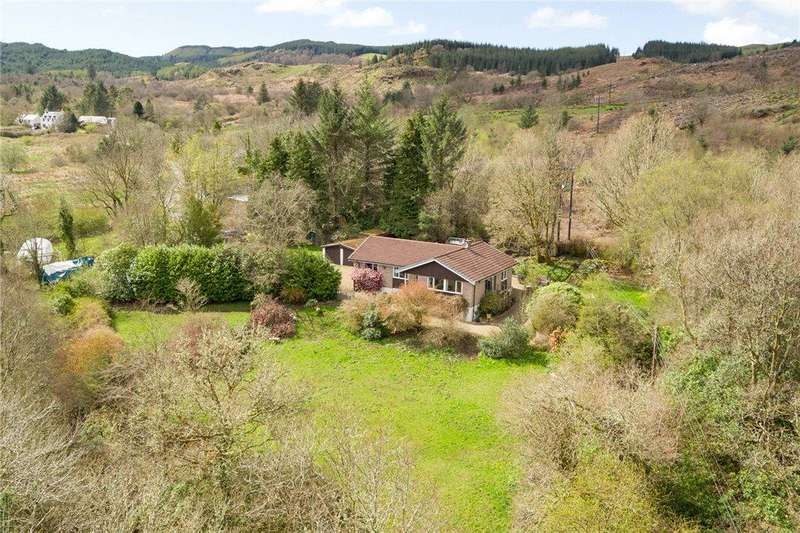 3 Bedrooms Detached Bungalow for sale in Breesfalt, Minard, Inveraray, Argyll and Bute
