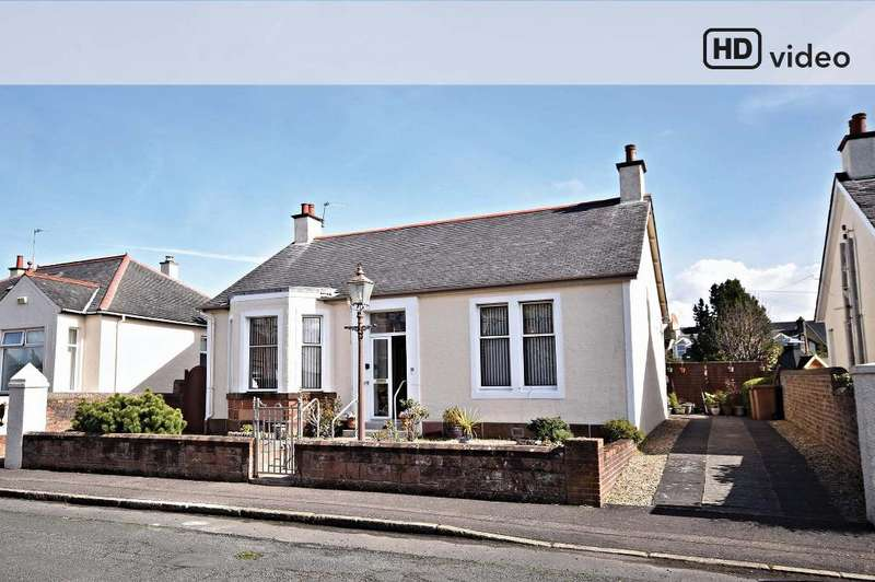 2 Bedrooms Detached Bungalow for sale in Robsland Avenue, Ayr, South Ayrshire, KA7 2RW