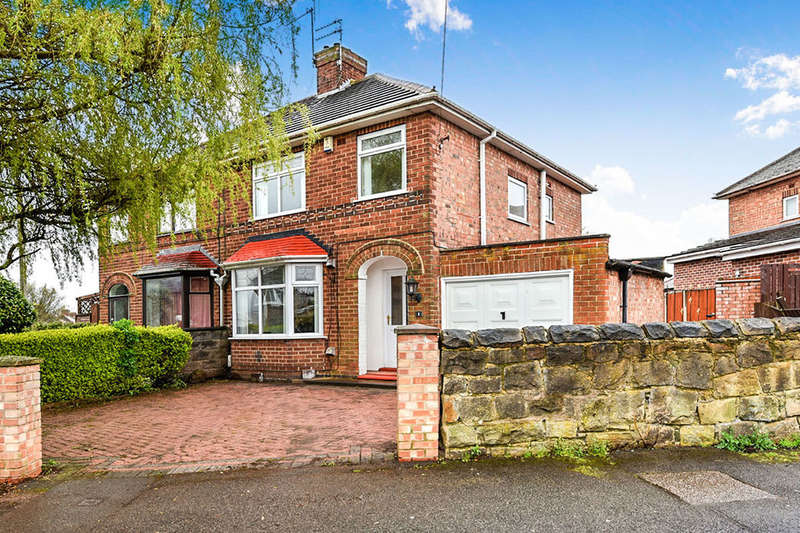 3 Bedrooms Semi Detached House for sale in Hazelwood Road, Chaddesden, Derby, DE21