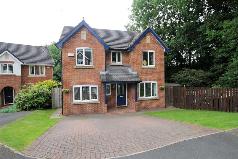 4 Bedrooms Detached House for sale in Turnberry Close, Blackhill, Consett, DH8