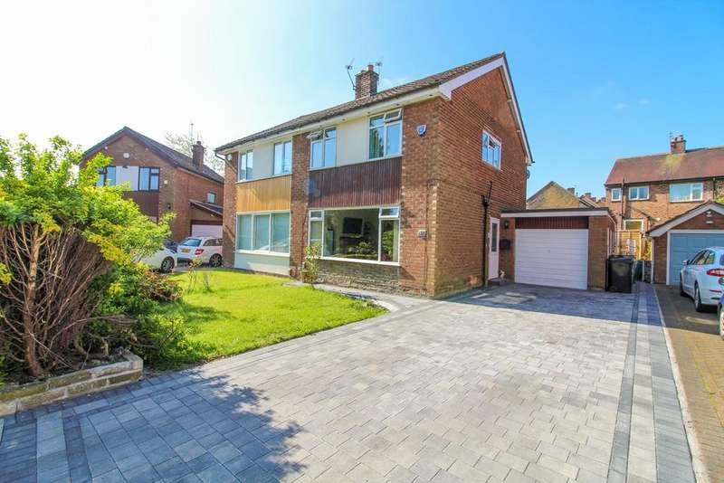 3 Bedrooms Semi Detached House for sale in Meadway, Poynton, Stockport, SK12