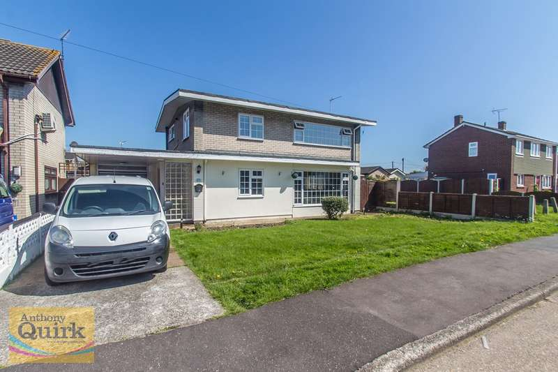 3 Bedrooms Detached House for sale in San Remo Road, Canvey Island, SS8