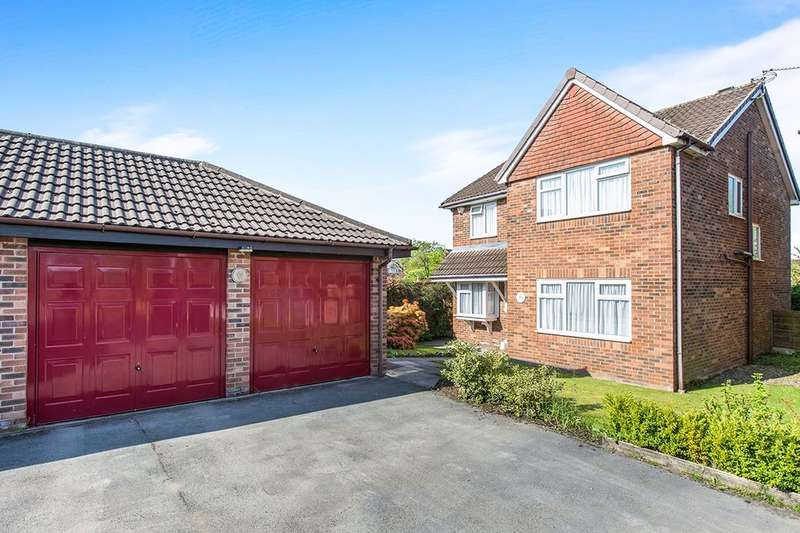 4 Bedrooms Detached House for sale in Little Aston Close, Tytherington, Macclesfield, SK10