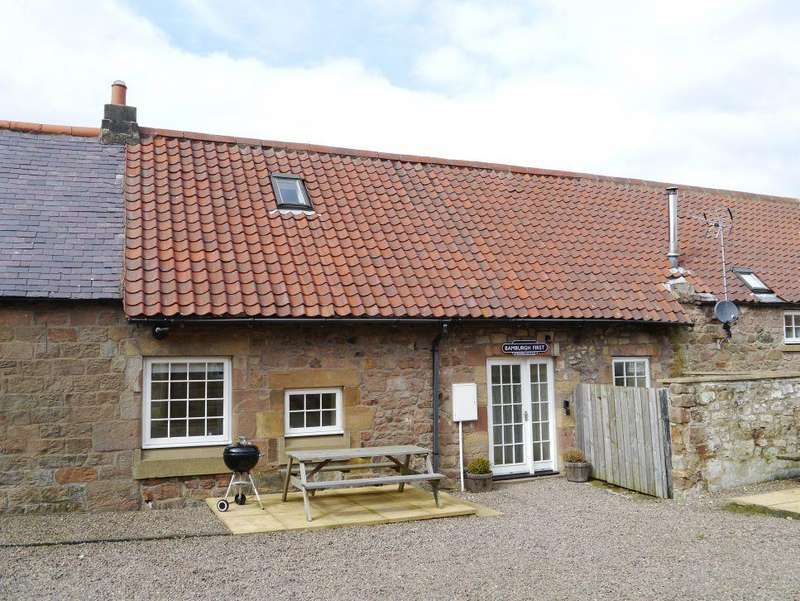 3 Bedrooms Terraced House for sale in Adderstone, Nr Belford, Northumberland