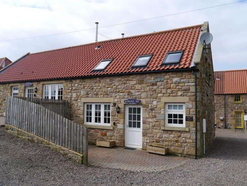 2 Bedrooms Semi Detached House for sale in Adderstone, Nr Belford, Northumberland