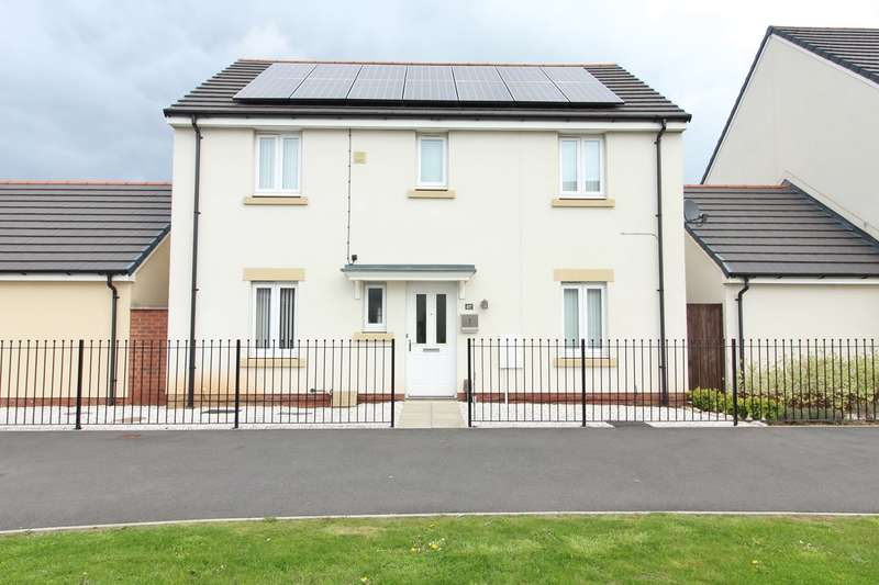 4 Bedrooms Detached House for sale in Brinell Square, Newport, NP19