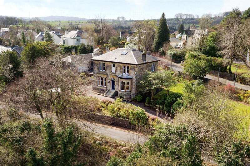 4 Bedrooms Detached House for sale in Bankend Road, Bridge of Weir, Renfrewshire