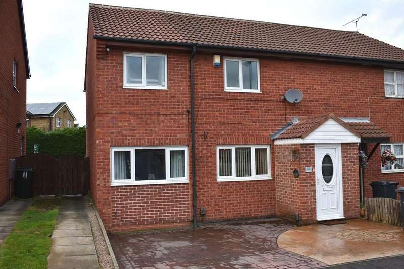 4 Bedrooms Semi Detached House for sale in Sandpiper Road, Thorpe Hesley