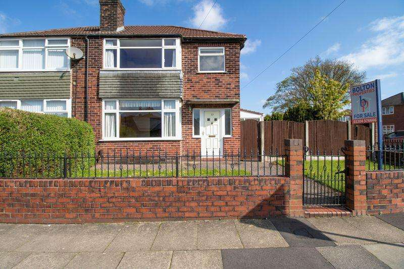 3 Bedrooms Semi Detached House for sale in Emlyn Street, Walkden, Worsley, Manchester, M28 3JZ