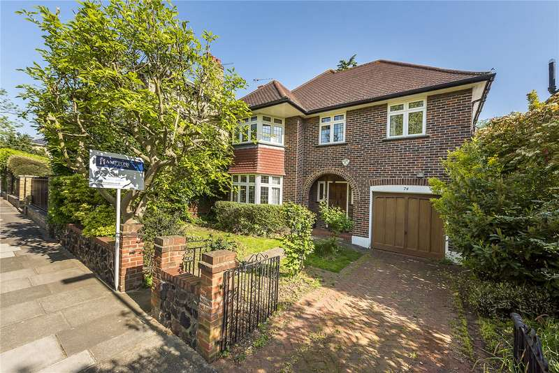 4 Bedrooms Detached House for sale in Park Road, Hampton Hill, Hampton, TW12