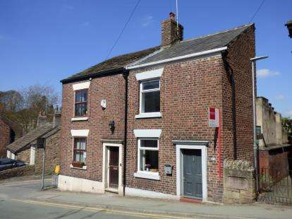 2 Bedrooms Semi Detached House for sale in Buxton Old Road, Disley, Stockport, Cheshire