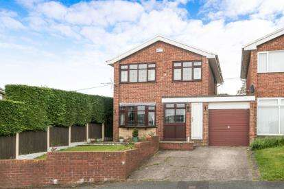 3 Bedrooms Link Detached House for sale in Wheat Close, Gwersyllt, Wrexham, Wrecsam, LL11