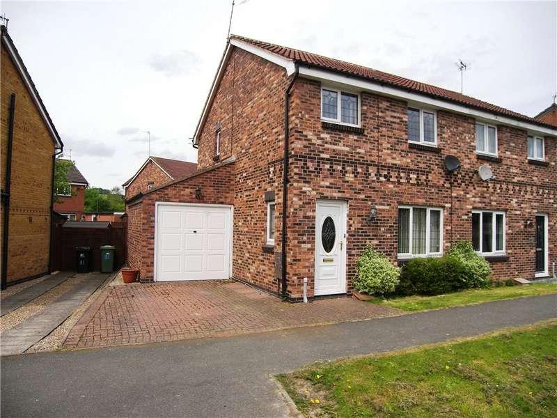 3 Bedrooms Semi Detached House for sale in Whitemoor Lane, Belper, Derbyshire, DE56