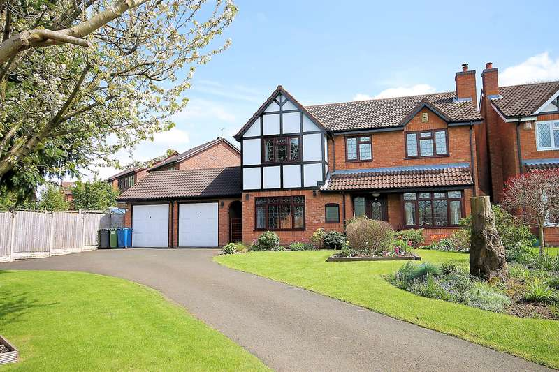 4 Bedrooms Detached House for sale in Montley, Wilnecote, Tamworth, B77 4JF