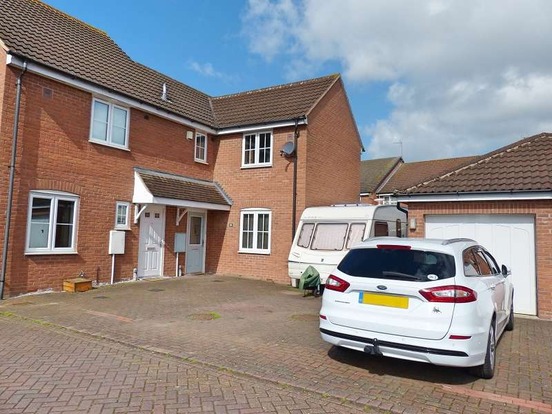 3 Bedrooms Semi Detached House for sale in Redshank Way, Hampton Vale, Peterborough, PE7 8LX