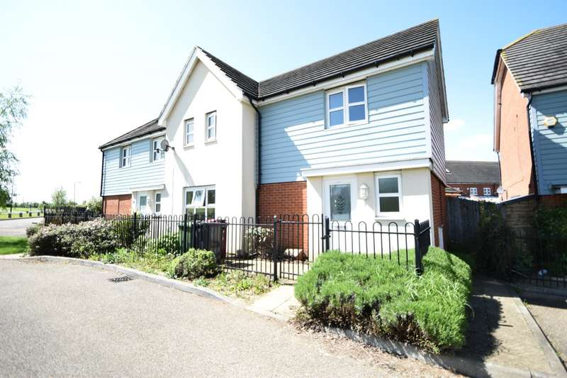 3 Bedrooms Semi Detached House for sale in Mathecombe Road, Cippenham, SL1