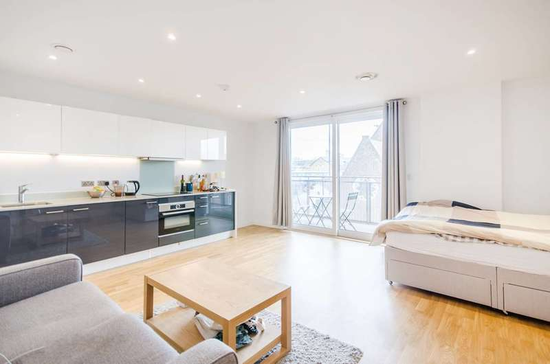 Studio Flat for sale in Octavius Street, Deptford, SE8