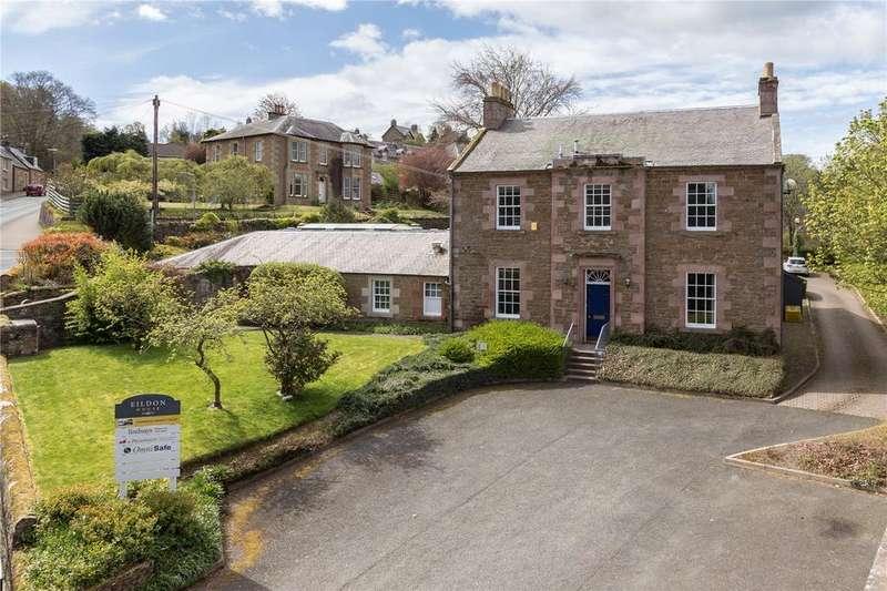 Detached House for sale in Eildon House, Dingleton Road, Melrose, Scottish Borders