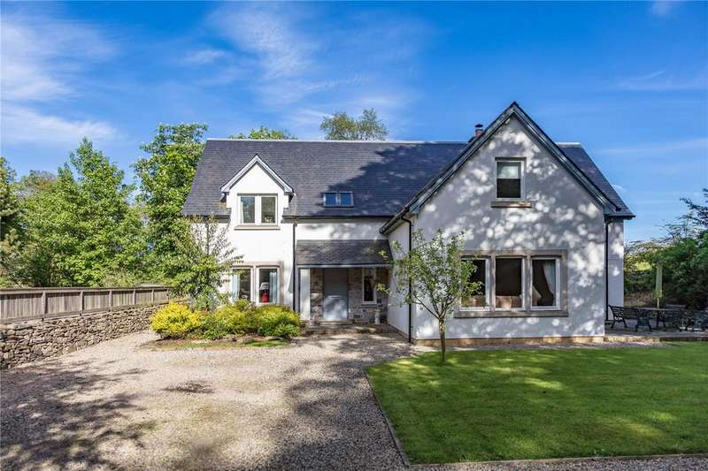4 Bedrooms Detached House for sale in Beechwood, Pyatshaw, Lauder, Berwickshire, Scottish Borders
