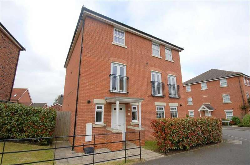 3 Bedrooms Semi Detached House for sale in Parkland Drive, Wychwood Village, Weston