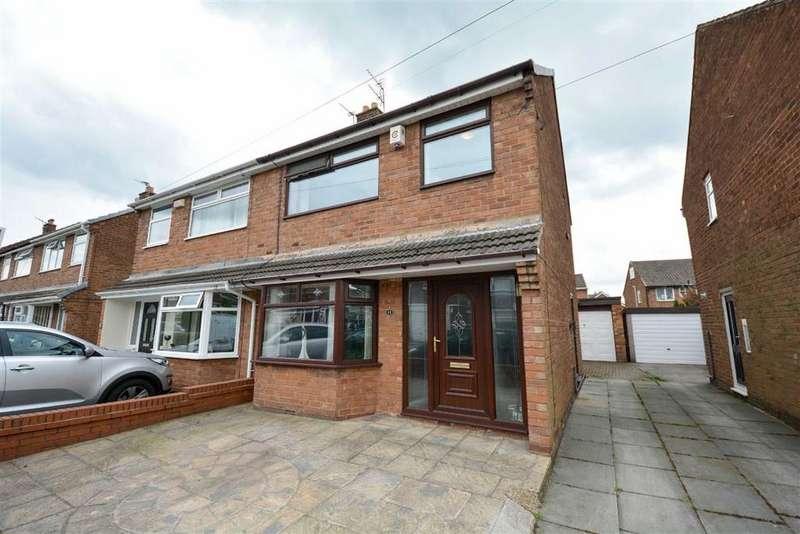 3 Bedrooms Semi Detached House for sale in Annesley Crescent, Marus Bridge, Wigan, WN3