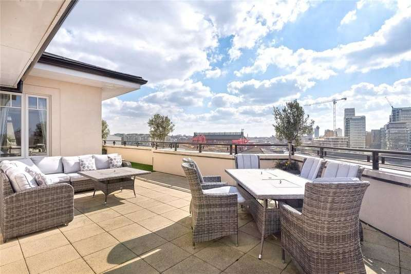 3 Bedrooms Flat for sale in Higham House West, 102 Carnwath Road, Fulham, LONDON