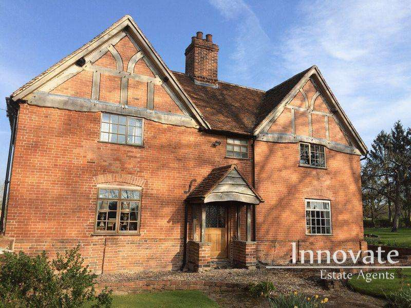 5 Bedrooms Farm House Character Property for sale in Packwood Road, Solihull