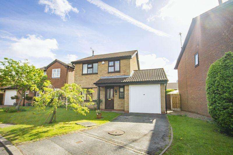 3 Bedrooms Detached House for sale in Misterton Close, Allestree