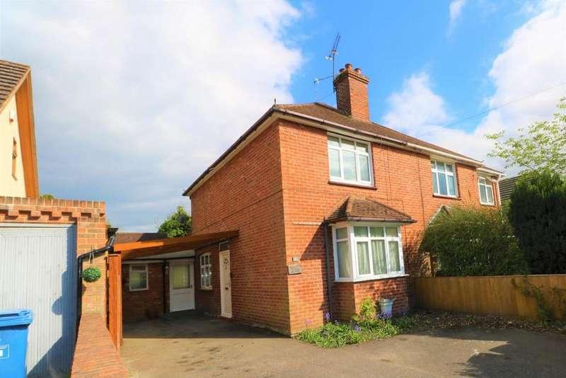 2 Bedrooms Semi Detached House for sale in Park Road, Sandhurst, GU47