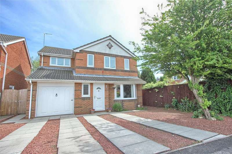 4 Bedrooms Detached House for sale in Heysham Grove, Redcar