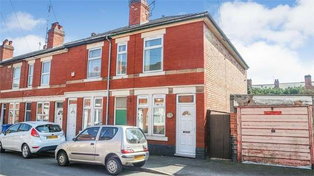 3 Bedrooms End Of Terrace House for sale in St Augustine Street, Derby