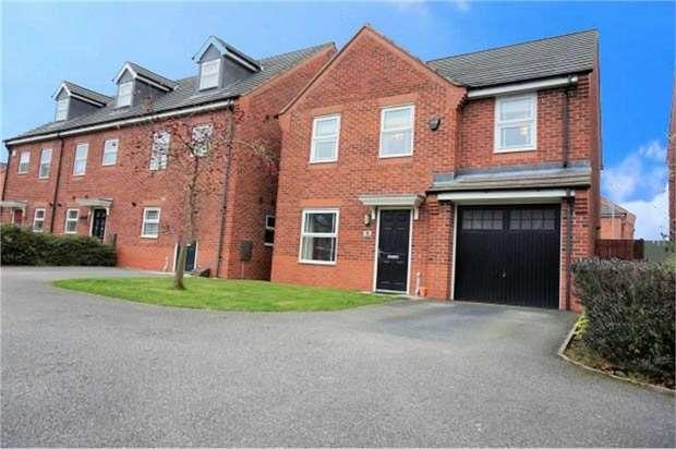 4 Bedrooms Detached House for sale in Layton Way, Prescot, Merseyside