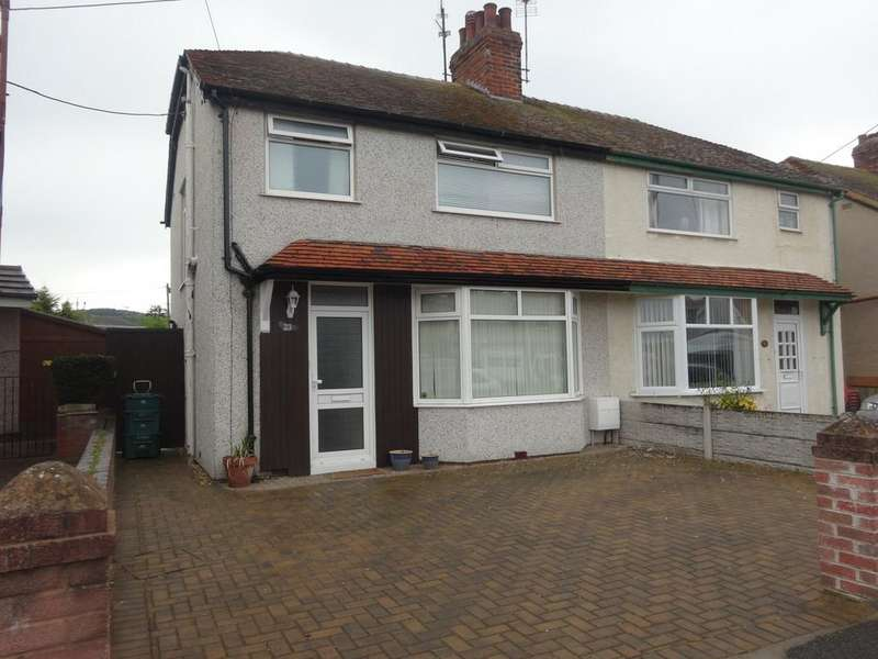 3 Bedrooms Semi Detached House for rent in Clwyd Avenue, Abergele