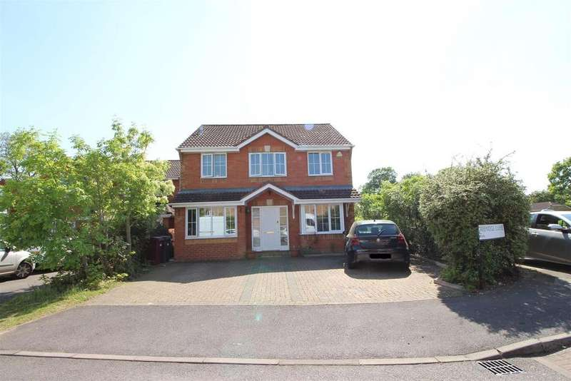 5 Bedrooms Detached House for sale in Greenidge Close, Reading