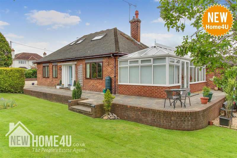 3 Bedrooms Detached Bungalow for sale in Chester Road, Mold