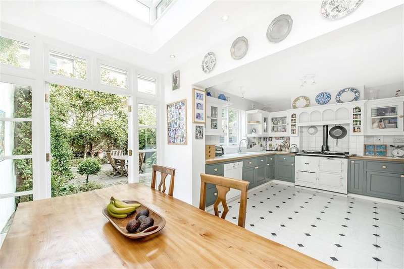 6 Bedrooms Terraced House for sale in Beauclerc Road, W6