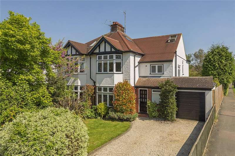 4 Bedrooms Semi Detached House for sale in Gilbert Road, Cambridge, CB4