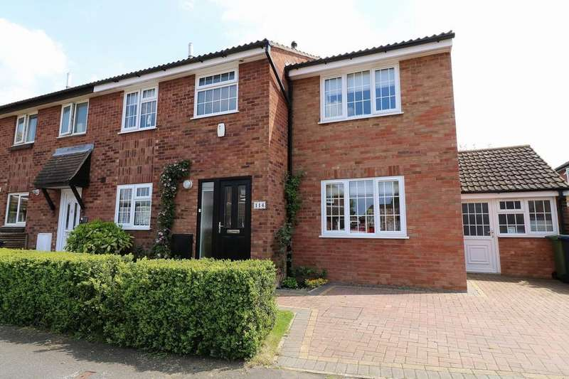 4 Bedrooms End Of Terrace House for sale in Limes Road, Hardwick