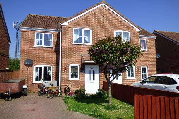 3 Bedrooms Semi Detached House for sale in Harveys Lane, Louth, LN11